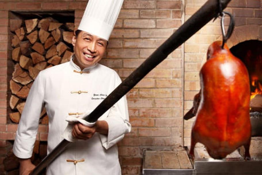 Le canard dans tous ses états au Shang Palace