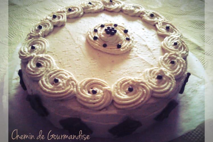 Gâteau douceur au café