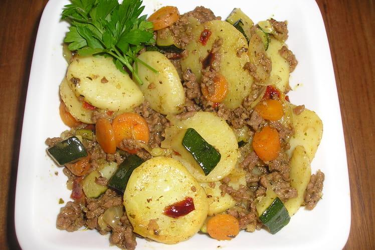 Curry de boeuf aux carottes
