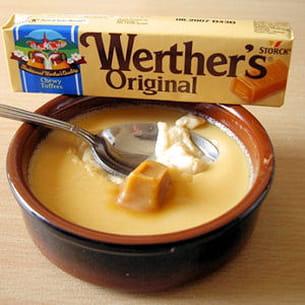 petits pots de crème aux werther's original