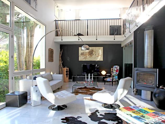 Best mezzanine salon contemporary amazing house design