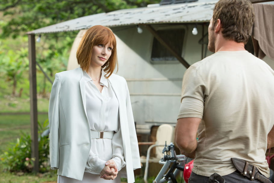 Jurassic World : Bryce Dallas Howard, héroïne en talons hauts