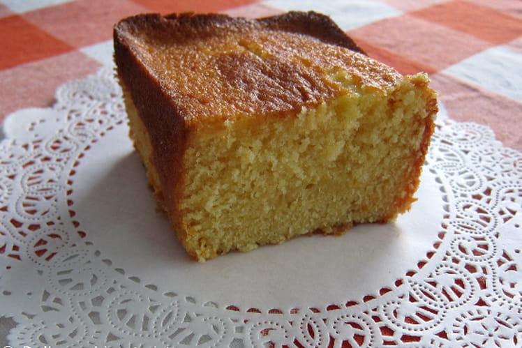Cake à l'orange et au miel