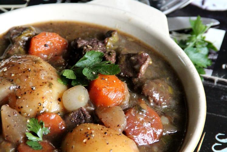 Joue de bœuf à la Guinness façon Irish stew