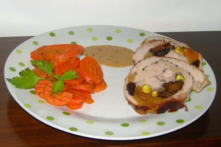 Recette de filet mignon de porc roul fa on orientale la - Cuisiner filet mignon de porc ...