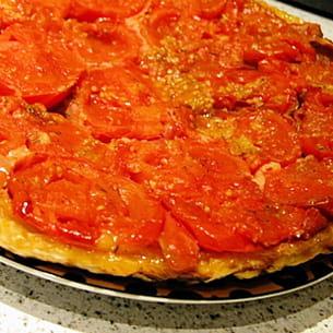 tatin de tomates à l'italienne