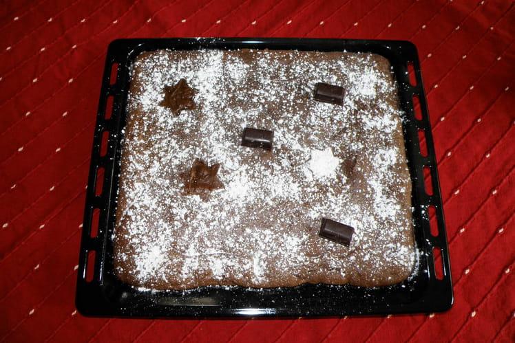 Fondant chocolat et noix