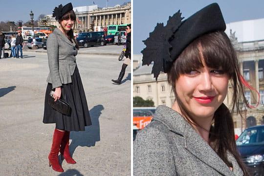 Fashion week : les street looks des défilés parisiens PAP automne-hiver 2011-2012 64