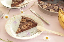 Gâteau à la banane sans sucre ajouté