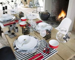 table de fête ambiance et styles