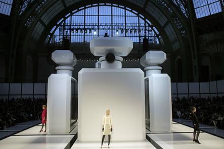 Le décor du défilé Chanel haute couture automne-hiver 2009-2010
