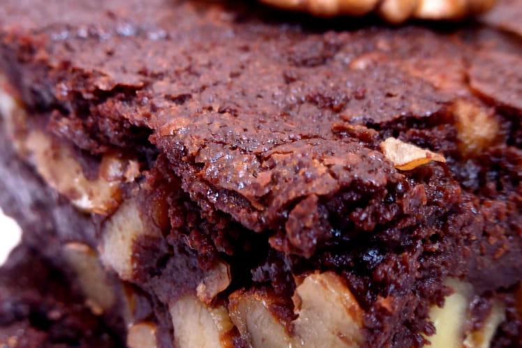 Brownie vegan (sans œufs, sans lait, sans gluten)