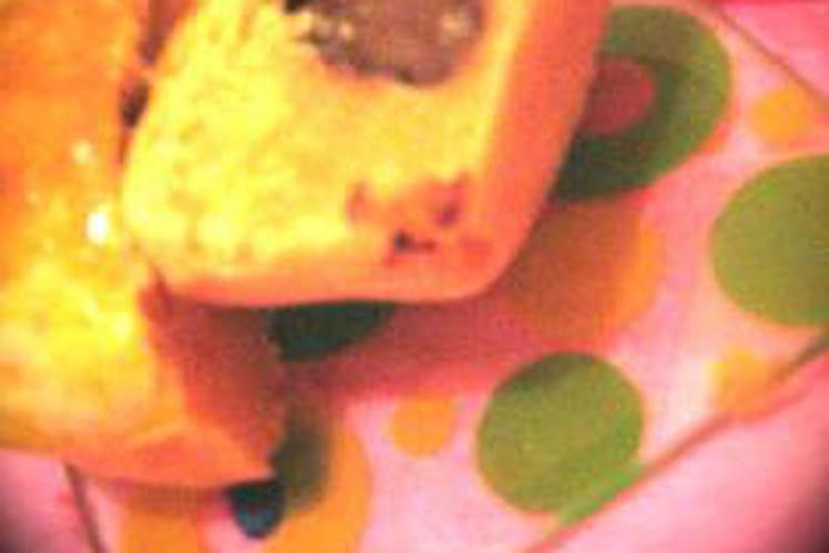 Briochées fourrées au chocolat