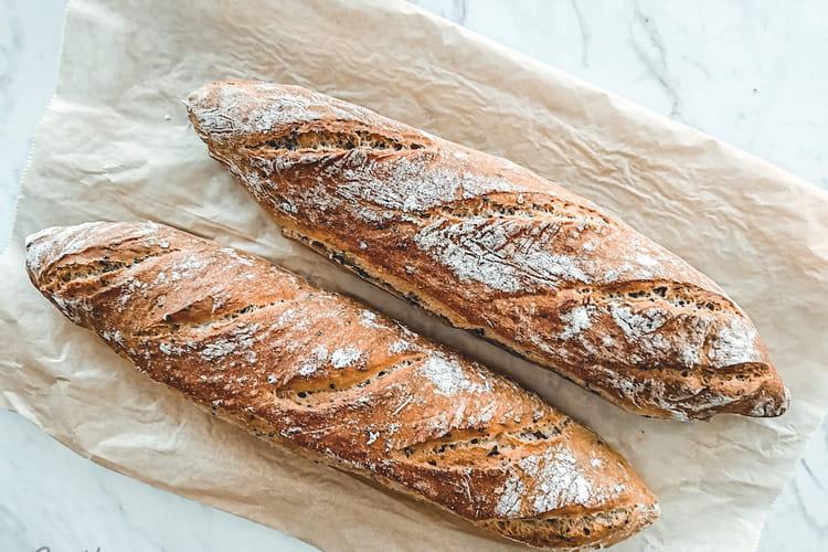 Baguettes aux graines rapides