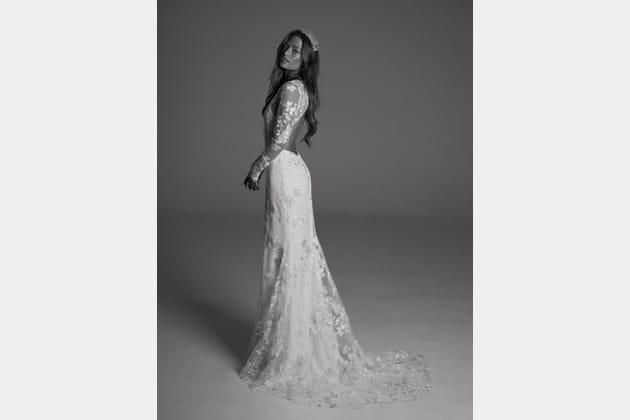 Robe de mariée Dover, de dos