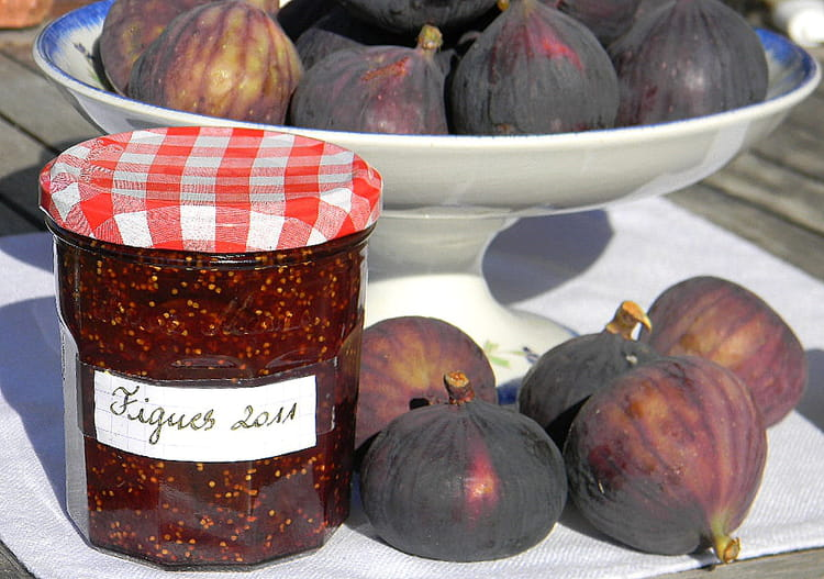 confiture figues zeste citron