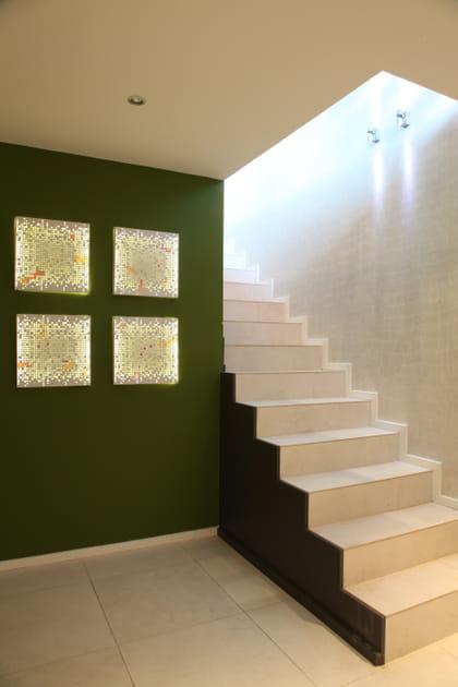 Un escalier contemporain