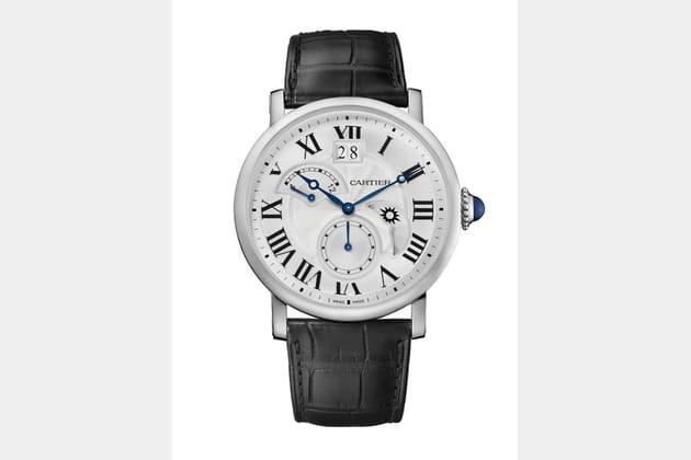 Montre Cartier Rotonde Second Fuseau Horaire Jour/Nuit