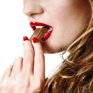 croquer ou ne pas croquer le chocolat ?