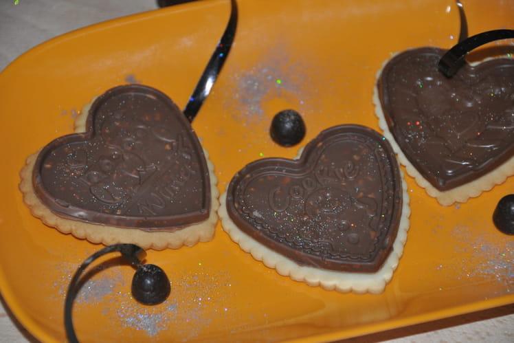Petits beurre au chocolat, citron et spéculoos