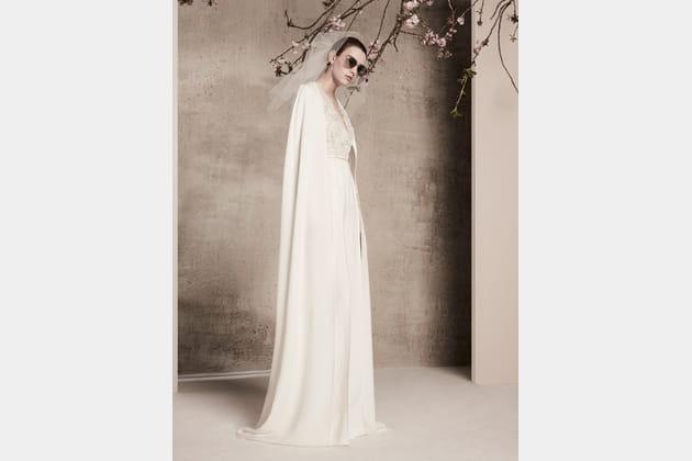 Une robe de mariée sophistiquée