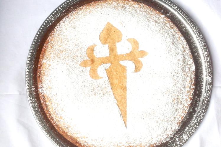 Tarta de Santiago ou Gâteau de Saint Jacques