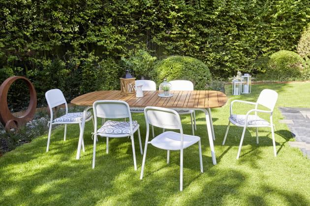mobilier de jardin hyba de carrefour. Black Bedroom Furniture Sets. Home Design Ideas