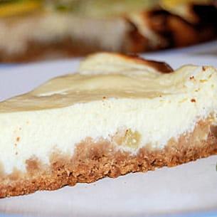 cheesecake au limoncino