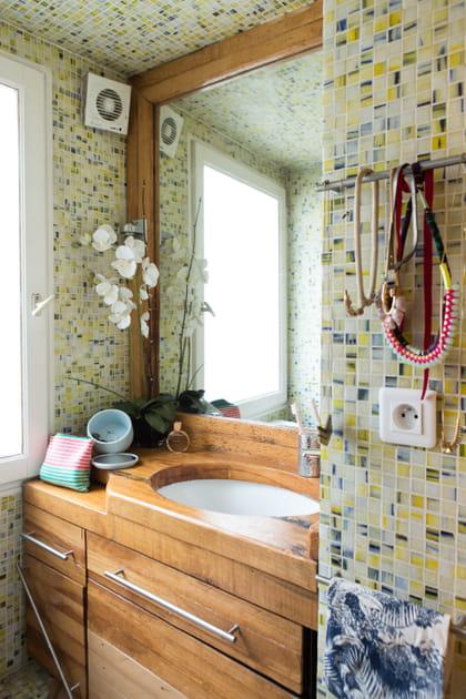 Une salle de bains orientale