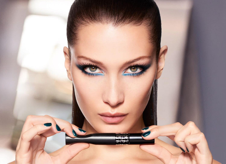 Bella Hadid, sa première campagne pour Dior Maquillage