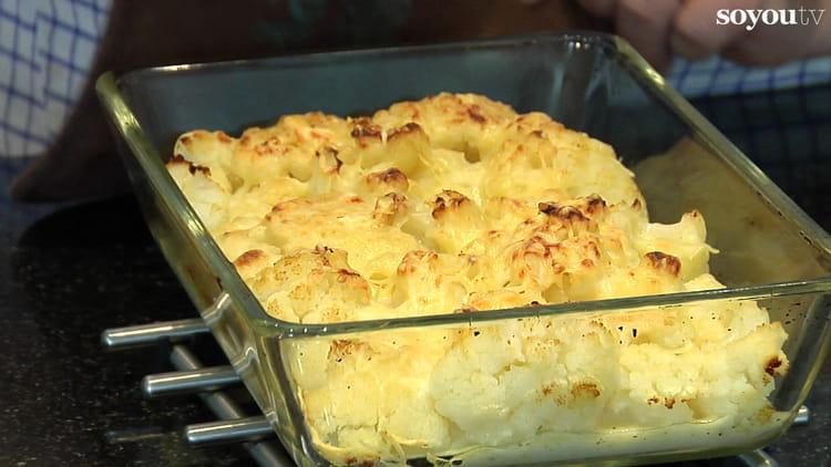 recette de chou fleur 224 la b 233 chamel la recette facile