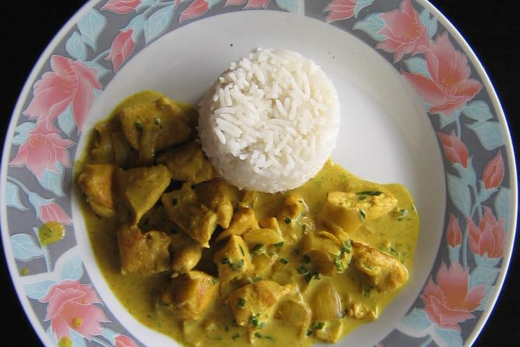 Poulet au curry pas cher