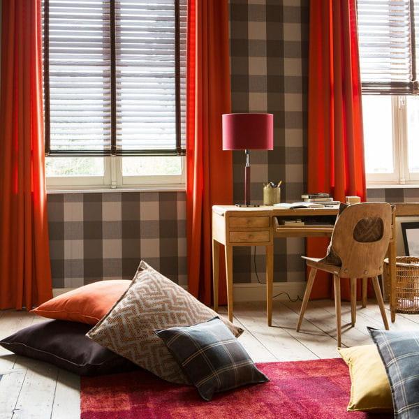 papier peint cottage caro d 39 heytens. Black Bedroom Furniture Sets. Home Design Ideas