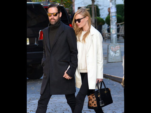 Kate Bosworth et son sac Burberry
