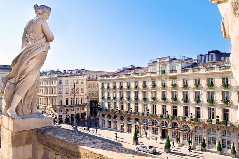 Visite du Grand Hôtel de Bordeaux & Spa
