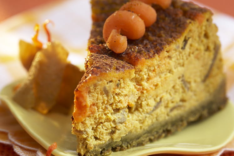 Carrot cheesecake exotique