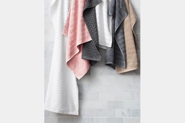 Des serviettes de toilette toutes douces