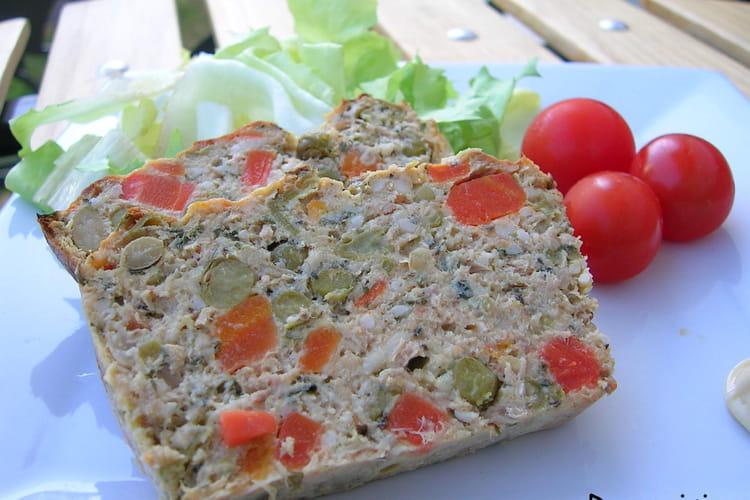 Terrine de thon aux légumes