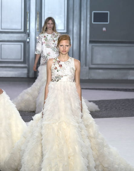 Robe de mariée Giambattista Valli, éclatante
