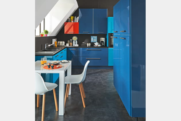 Cuisine Alistrat bleue d'Alinéa
