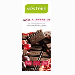 tablette chocolat noir superfruit
