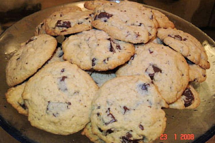 Cookies aux pépites de chocolat et à la nougatine