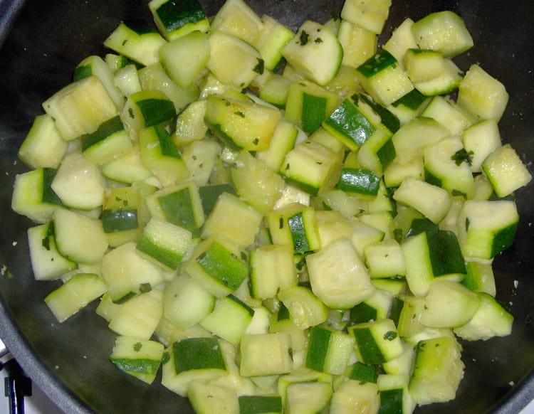 recette de poêlée de courgettes légère : la recette facile