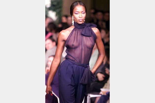 Naomi Campbell le 20janvier 1999
