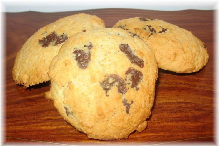 Cookies à la pomme et au chocolat