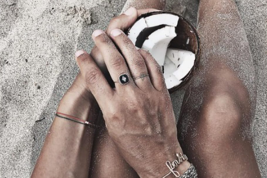 Le look blogueuse de la semaine : Audrey Lombard à la page sur la plage