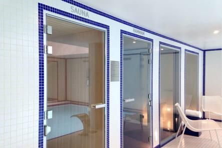 Le sauna et le Hammam pour une détente absolue