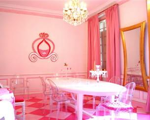 La salle manger rose d 39 emmanuelle for Salle a manger rose