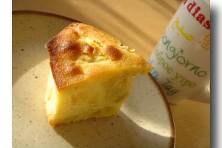 Cake au rhum et aux pommes