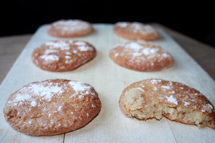 Macarons à l'ancienne sans gluten et sans lactose